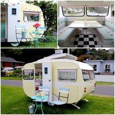 Renovated Retro Caravan | Polli - mountaincampingzmountaincampingz
