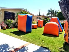 Nerf party bunker