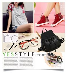 """""""Yesstyle 2.-Back to school-SALE"""" by vicky-1314 ❤ liked on Polyvore featuring Love Generation, MOL Girl, Jolly Club, Shoe Atelier, BackToSchool, bts, yesstyle and BackToSchoolSale"""