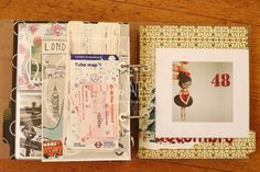 Les Mains Baladeuses Project Life scrapbooking 2014 November / novembre travel, trip / voyage, London Engand United Kingdom / Londres Angleterre Royaume-Uni tickets, My 2015 polymer clay collection / Ma collection de Noël 2015 en fimo https://www.facebook.com/lesmainsbaladeuses/