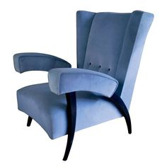 From carved wood to hand-applied lacquer, antique and vintage paneling has become the ultimate prize for sophisticated design collectors Gio Ponti, Furniture Plans, Furniture Design, Cabinet D Architecture, Modernisme, Mid Century Chair, Wing Chair, Mid Century Modern Furniture, Mid Century Design