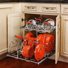 space saving ideas for kitchen storage and organization