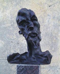 Otto Gutfreund Don Quijote 1911-1912 39 cm bronz