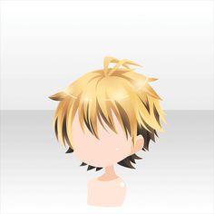 Honey Lemon Juice Bar | -At Games- - Youngi Sites Anime Boy Hair, Manga Hair, Anime Hairstyles Male, Boy Hairstyles, Drawing Male Hair, Drawing Faces, Drawing Tips, Pelo Anime, Chibi Hair