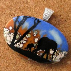 Glass Pendant Fused Glass Pendant Fused Glass by GlassMystique, $28.00