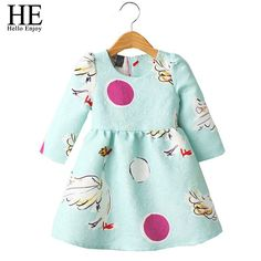 $9.81 (Buy here: https://alitems.com/g/1e8d114494ebda23ff8b16525dc3e8/?i=5&ulp=https%3A%2F%2Fwww.aliexpress.com%2Fitem%2FHE-Hello-Enjoy-girls-dress-winter-girls-clothes-2016-jacquard-swan-dress-girl-autumn-kids-dresses%2F32699478653.html ) HE Hello Enjoy girls dress winter girls clothes 2016 jacquard swan dress girl autumn kids dresses for girls children Clothing for just $9.81