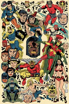 Jack Kirby artwork - Google Search