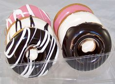 6 Pack of Artificial Donuts of Assorted Flavors
