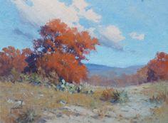 "InSight Gallery Artist: Robert Pummill - Title: November, oil 9"" x 12"""