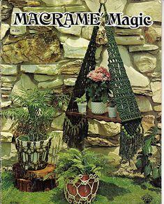Macrame Magic Pattern Book H234. $6.00, via Etsy.