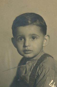 Tomas Mendelik was only 7 when he was sadly murdered at Auschwitz - Bireknau on October18, 1944