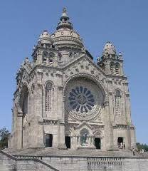 Templo Monumento do Sagrado Coração de Jesus cuja construção se iniciou em 1904 Viana do Castelo