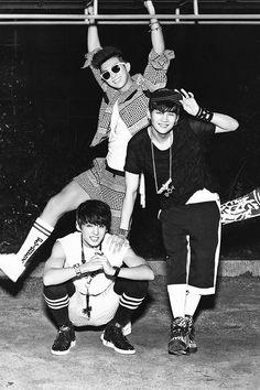 JungKook, RapMonster & Suga BTS