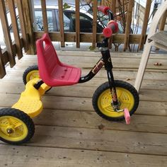Kids tricycle $8