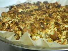 SCD friendly Pear and Cardamom crumble