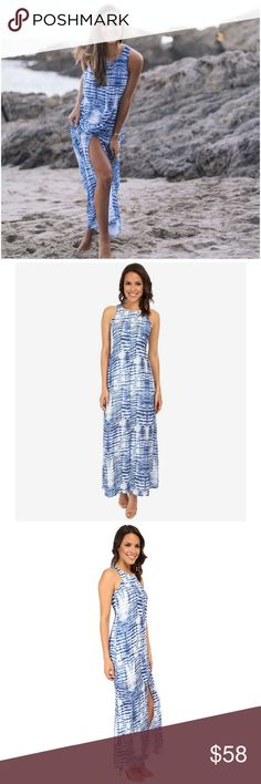 COMING SOONINDIGO WAVE MAXI DRESS ~ NWT INDIGO WAVE MAXI DRESS ~ Beautiful maxi dress that will go from Spring into Summer ~ Length: 58 Inches ~ Bust: 18 1/4 Inches ~ Waist: 18 Inches ~ Material: Polyester/Rayon/Spandex #2648  Trades or Holds ✅ Use offer option ❤️Bundles Karen Kane Dresses Maxi