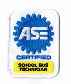 ASE Certified Master Automobile Technician Patch Brand New Mechanic