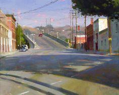 broadway street by Jennifer McChristian 20x16