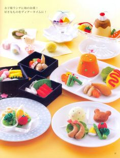 Ultimate Play Food Japanese craft book by MeMeCraftwork on Etsy