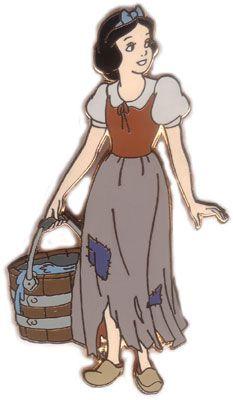 Snow White princess trading pin