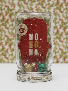 Mason Jar Gift Card Holder