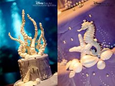 Wedding Cake Wednesday: Seahorse InspirationEver After Blog | Disney Fairy Tale Weddings and Honeymoon