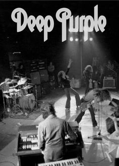 DEEP PURPLE!!! Ds -Ian Paice, G -Ritchie Blackmore, L. Vo -Ian Gillan, B -Roger Glover