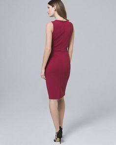 Women's Faux-Wrap Dress by White House Black Market Wrap Dress Outfit, Wrap Dress Floral, Faux Wrap Dress, Dress Outfits, Fashion Dresses, Wrap Dresses, Reversible Dress, Work Dresses For Women, Playsuit