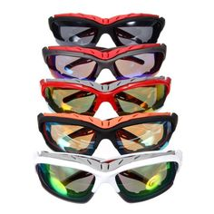 ddc35ef29a9f3b Sun Glasses Portable Outdoor Sport Road Bike MTB Mountain Cycling Unisex  Eyewear