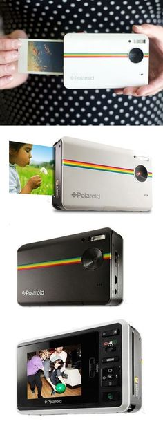 Polaroid hybrid instant print + digital camera // the absolute best of both worlds! Love this! #product_design