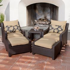 Club Chair With Ottoman  http://www.modernrugsideas.org/club-chair-with-ottoman/ #Chair, #Club, #Ottoman, #With