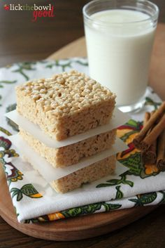 Lick The Bowl Good: Browned Butter- Making Rice Krispie Treats Better!