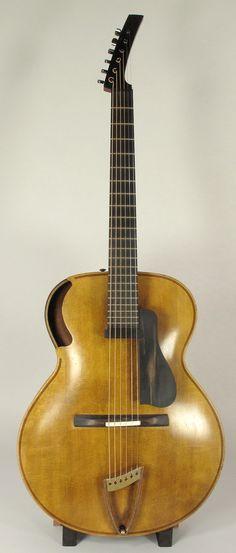 Guitar Rack, Jazz Guitar, Cool Guitar, Unique Guitars, Custom Guitars, Vintage Guitars, Archtop Acoustic Guitar, Resonator Guitar, Ken Parker