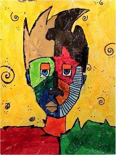 4th Grade Picasso Portraits - Artsonia Lesson Plan