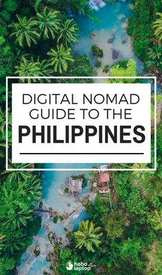 """""""Is the philippines one of the best digital nomad destinations in short answer; it's like thailand circa 1994 with internet. Work Travel, Asia Travel, Travel Tips, Travel Guides, Travel Deals, Barbados, Places To Travel, Travel Destinations, Philippines Travel"""
