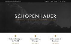 Essays of Schopenhauer