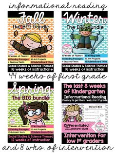 Ideas for Teaching Fluency in First Grade!