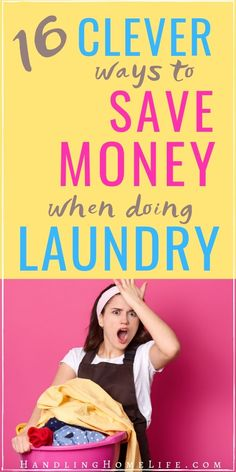 Ways to save money when doing laundry! Frugal living hacks you may not have thought of! Save Money On Groceries, Ways To Save Money, Money Tips, Money Saving Tips, Doing Laundry, Laundry Hacks, Laundry Room, Cleaning Recipes, Cleaning Hacks