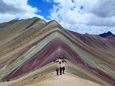 Rainbow Mountain, Peru Backpacking Peru, Lake Titicaca, Machu Picchu, Coast, Rainbow, Mountains, Nature, Travel, Rain Bow