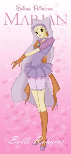 Sailor Moon Disney - Robin Hood - Maid Marian, as a possible cosplay they should add subtle fox face paint