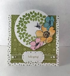 Paper Seedlings: MAKE A SPRING TENT TOPPER CARD