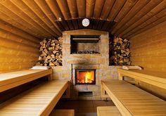 MAA®-Sauna (Erdsauna mit Holzbefeuerung)