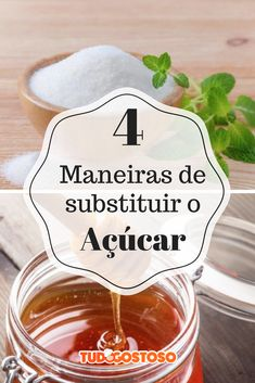 Para adoçar a vida de outra forma: confira 4 maneiras de substituir o açúcar no dia a dia.