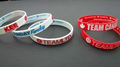 Custom Wristies for Team Canada Ladies roller hockey team + our #SundayFunday Party Series @TheKEEtoBala look sharp!