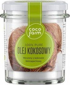 CocoFarm Olej kokosowy 240g