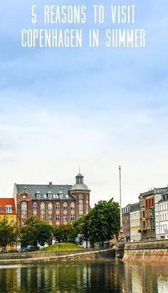 Queen Louise Bridge #Copenhagen, #Denmark  One of the main spots for popular Danish summer party 'Distortion'