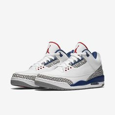 buy online a7db8 e0fdd Nike Air Jordan III Retro 3 OG True Blue Size 3.5Y-10 2016 Cement