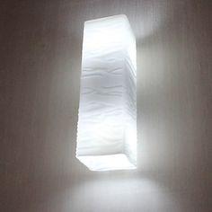 Mini Wall Light, 2 Light, Brief Cream White Iron – USD $ 49.99
