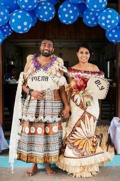 Traditional Wedding Dresses, Traditional Outfits, Traditional Weddings, Island Wedding Dresses, Island Wear, Ethnic Wedding, Groom And Groomsmen Attire, Bridal Dress Design, Wedding Attire
