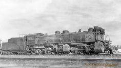 Castle Graphics Transportation Galleria - Articulated/cbq 4101 2-6-6-2 denver co nov25 1948